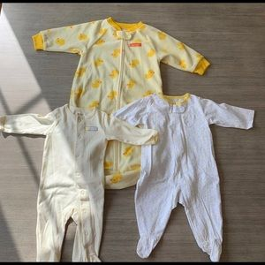 Carter's One Pieces - Baby Sleep Sack and PJ's Duck Design